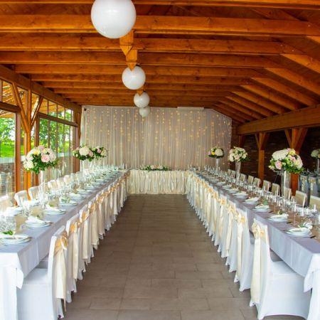 Svadobná výzdoba vinárstvo Bartal Šamorín
