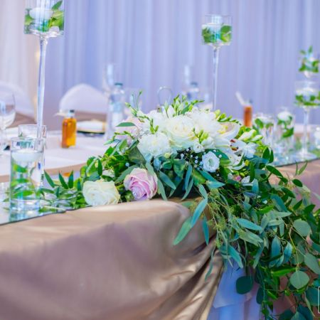 Svadobná výzdoba Hotel Kormorán Šamorín