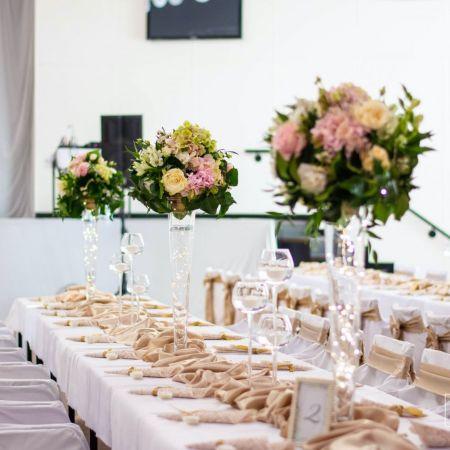 Svadobná výzdoba Gabčíkovo kultúrny dom