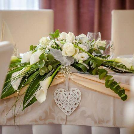 Svadobná výzdoba Hotel Thermal Varga
