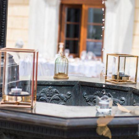 Svadobná výzdoba kaštieľ Bernolákovo, Theresia Chateau