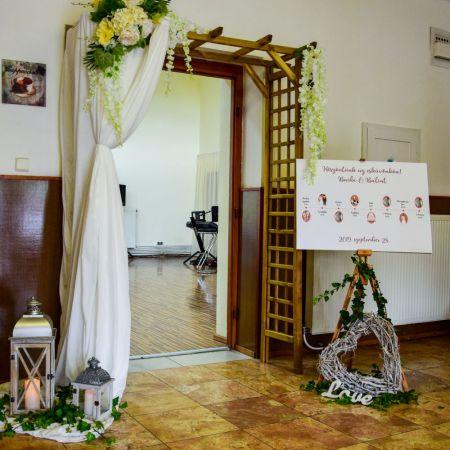 Svadobná výzdoba Marica Gabčíkovo