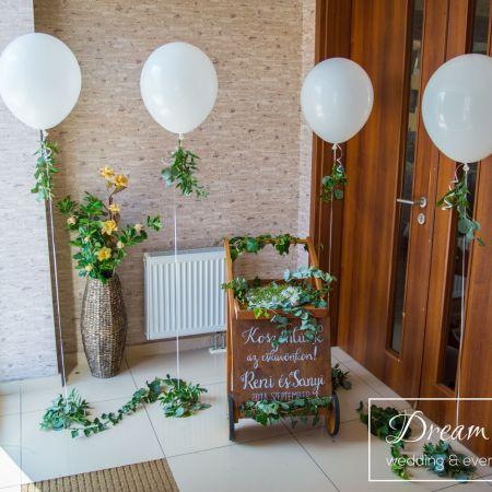 Svadobná výzdoba Reštaurácia Malý Dunaj Trstice