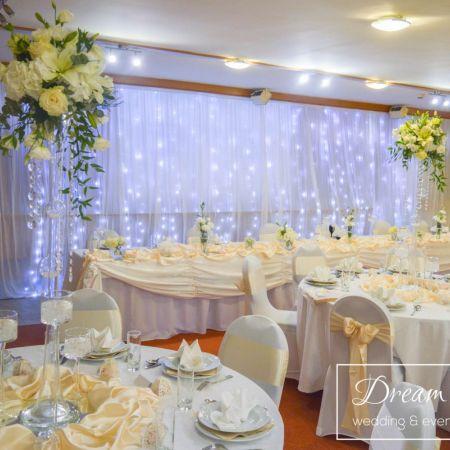 Svadobná výzdoba Hotel Kálvária
