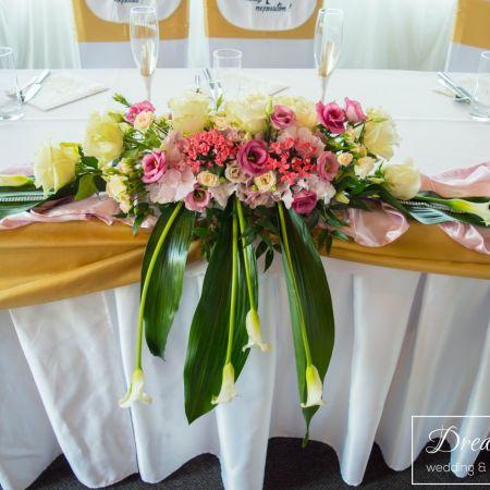 Svadobná výzdoba InterSporthotel