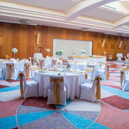 Svadobná výzdoba Double Tree by Hilton Hotel