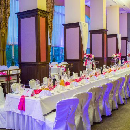 Svadobná výzdoba Hotel Apollo