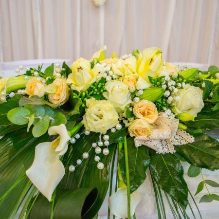 Svadobná výzdoba Kultúrny Dom Blatná na Ostrove