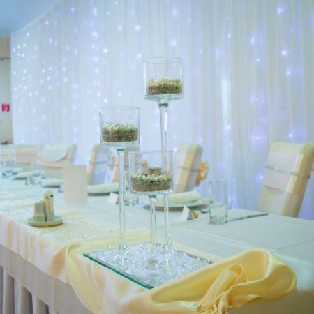 Svadobná výzdoba Reštaurácia Ister