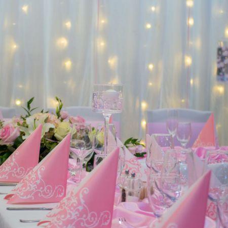 Výzdoba oslavy narodenín Reštaurácie Samaria